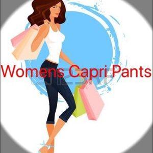 Pants - Capri pants
